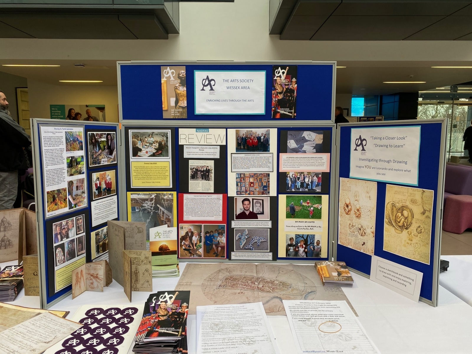 the-arts-society-Wessex-area-stand